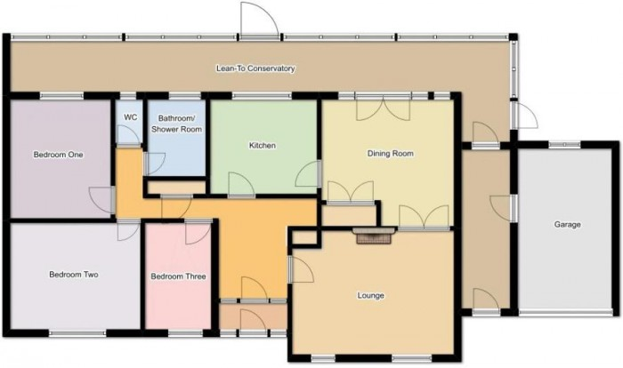 Floorplan for St Stephens Close, Bath